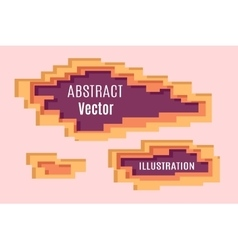 Abstract Pixel layering vector