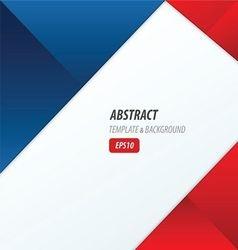 Background dimension modern red blue color vector