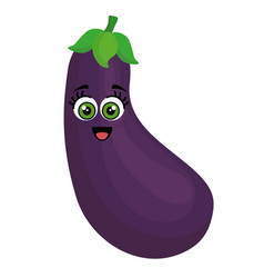 Beet vegetables comic character vector