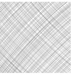 black lines texture isolated on white background vector image