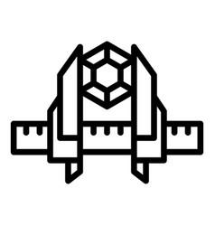 Construction caliper icon outline style vector