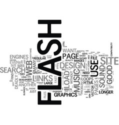 flash deadly sins that can kill your web business vector image