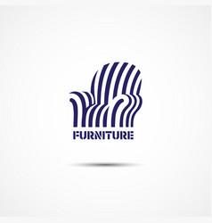 Furniture logo vector