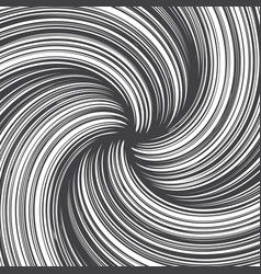 hand drawn abstract twirl lines texture vector image vector image