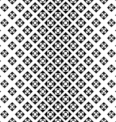 Monochrome repeating geometric pattern vector