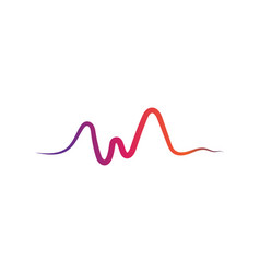 soundwave ilustration logo icon template vector image