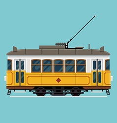Tram Car Icon vector