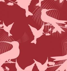 paradise birds vector image vector image