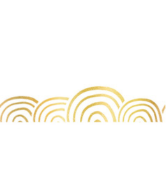 abstract metallic golden foil seamless vector image