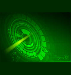 abstract technologylight background vector image