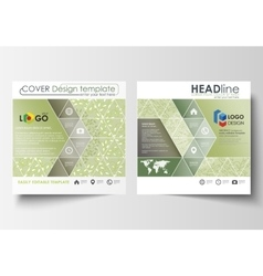 Business templates square design brochure or vector