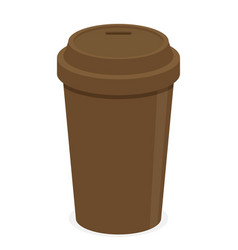 coffee cup flat vector image