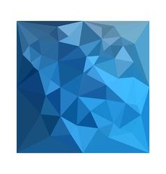 Cornflower Blue Abstract Low Polygon Background vector