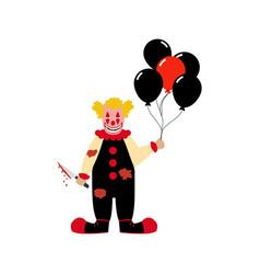 Evil clown vector