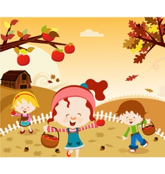 Happy Harvest vector image