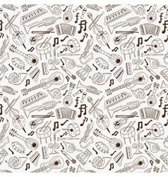 Jazz - seamless background vector