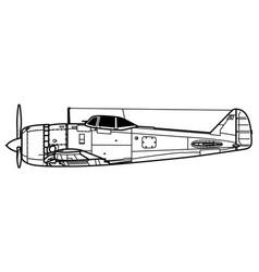Nakajima ki-44 shoki tojo vector