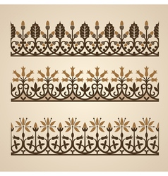 Old ornament vector