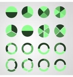 set diagram vector image