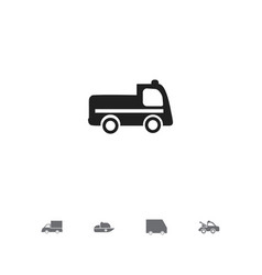 set of 5 editable transportation icons includes vector image