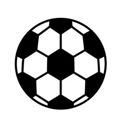 Soccer ballloon isolated icon vector