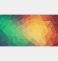 triangle mosaic abstrat background geometric vector image