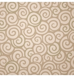 Abstract swirl wallpaper seamless pattern vector image vector image