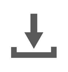 download icon simple vector image