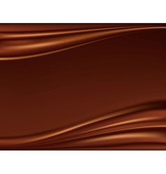 Abstract chocolate background vector image vector image