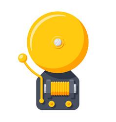 alarm bell icon vector image