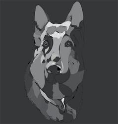 Dog guard vector