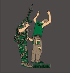 Terrorist vector