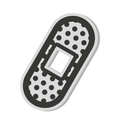 cure bandage isolated icon vector image