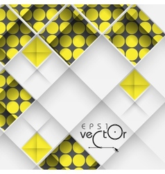 Abstract 3D Geometrical Design vector image