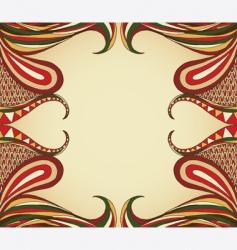 swirl layout vector image
