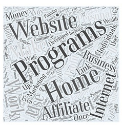 Adding profit to your work from home internet vector