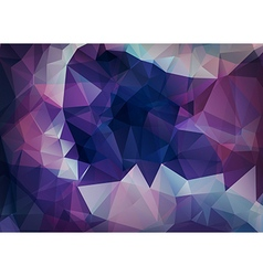 Abstract background of triangles polygon wallpaper vector image