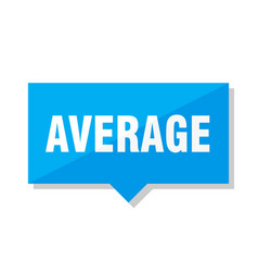 Average price tag vector