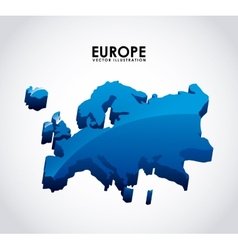 europe design vector image