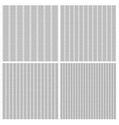 Set seamless pattern guilloche ornament dense grid vector