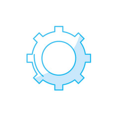 Silhouette technology web tools symbol icon vector