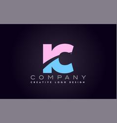 ic alphabet letter join joined letter logo design vector image