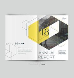 Design annual report vector
