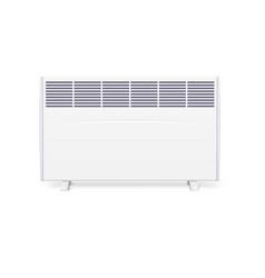 Domestic electric heater icon of home con vector