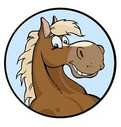 Happy Horse vector image