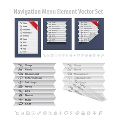 Nav Menu vector