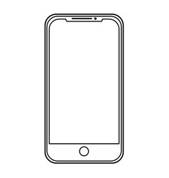 mobile device application technology gadget vector image