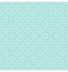 pattern mint geometric celtic vector image vector image