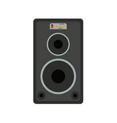 stage speaker icon image vector image