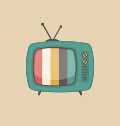 230retro television vector image vector image